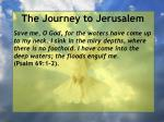 the journey to jerusalem156