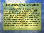 the journey to jerusalem158