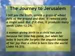 the journey to jerusalem160