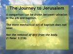 the journey to jerusalem161