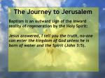 the journey to jerusalem163