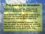 the journey to jerusalem164
