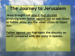 the journey to jerusalem169