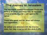 the journey to jerusalem171