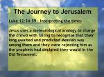 the journey to jerusalem174