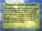 the journey to jerusalem175