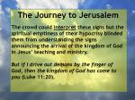 the journey to jerusalem178