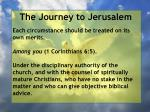 the journey to jerusalem184