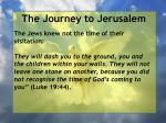 the journey to jerusalem185