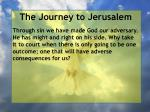 the journey to jerusalem188