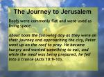 the journey to jerusalem20