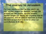 the journey to jerusalem25