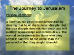 the journey to jerusalem36