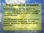 the journey to jerusalem40