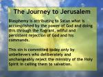 the journey to jerusalem42