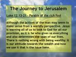 the journey to jerusalem48