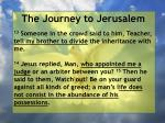 the journey to jerusalem49