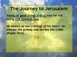 the journey to jerusalem61