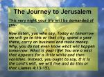 the journey to jerusalem67