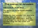 the journey to jerusalem73