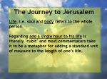 the journey to jerusalem80