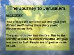 the journey to jerusalem87