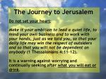 the journey to jerusalem91