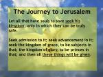 the journey to jerusalem94
