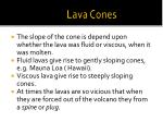lava cones