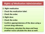 rights of medication administration1