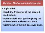 rights of medication administration3