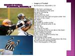 imimagery of football by anonymous atascadero ca