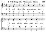 149 i will sing 1 1