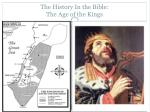 the history in the bible the age of the kings2