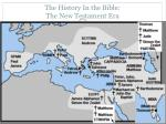 the history in the bible the new testament era12