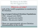 the history in the bible the new testament era13