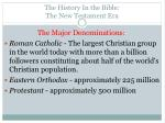 the history in the bible the new testament era14
