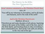the history in the bible the new testament era9
