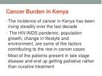 cancer burden in kenya1