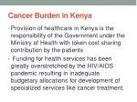 cancer burden in kenya2