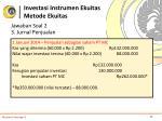 investasi instrumen ekuitas metode ekuitas7