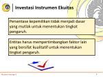 investasi instrumen ekuitas2