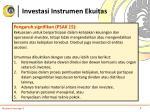 investasi instrumen ekuitas4