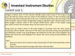investasi instrumen ekuitas8