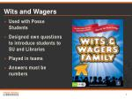 wits and wagers