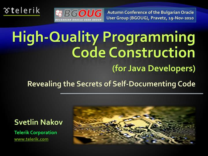 high quality programming code construction n.