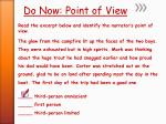do now point of view