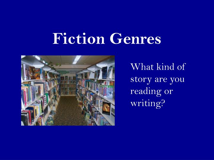 fiction genres n.