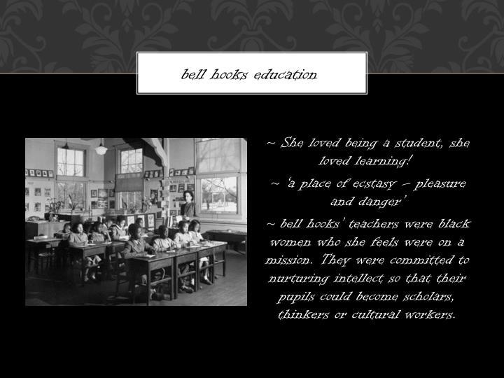 bell hooks education
