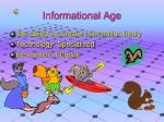informational age